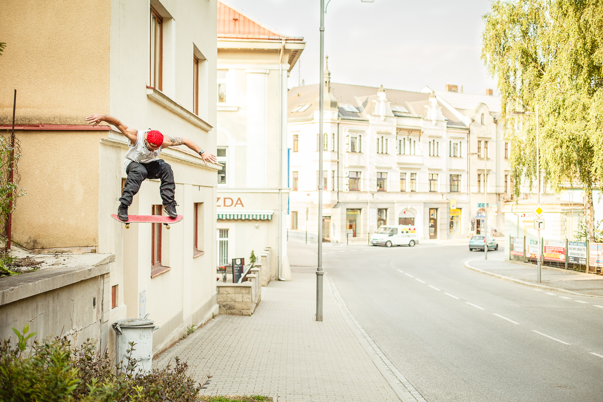 Sváťa Vorel - backside ollie