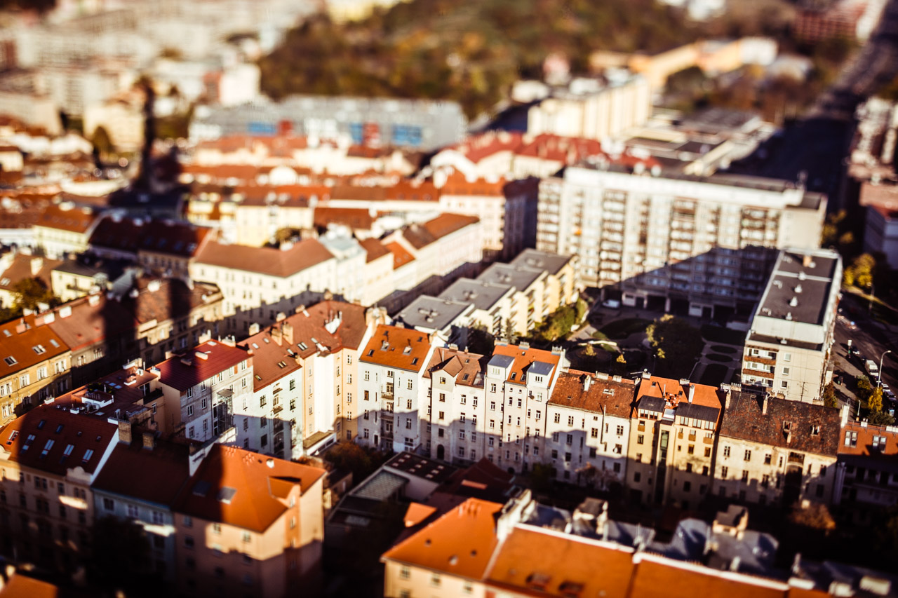 Zizkov tilt shift